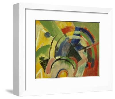 Small composition IV-Franz Marc-Framed Giclee Print