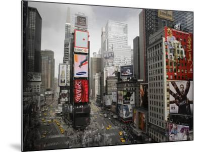 Times Square Rising--Mounted Art Print
