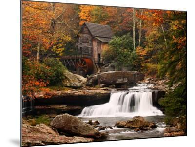 Glade Creek Mill, West Virginia--Mounted Art Print