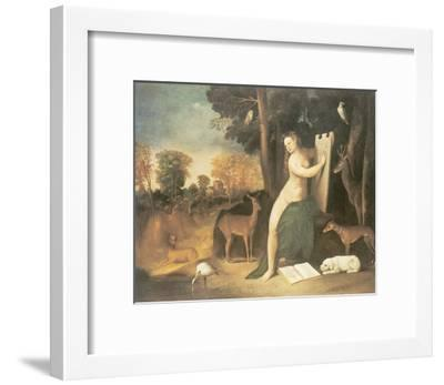 Circe And Her Lovers In A Landscape-Dosso Dossi-Framed Premium Giclee Print