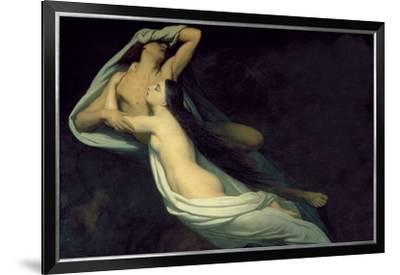 Paolo and Francesca-Ary Scheffer-Framed Premium Giclee Print