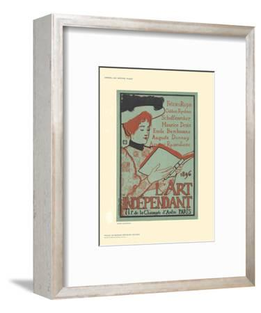 L'Art Independant-Armand Rassenfosse-Framed Collectable Print