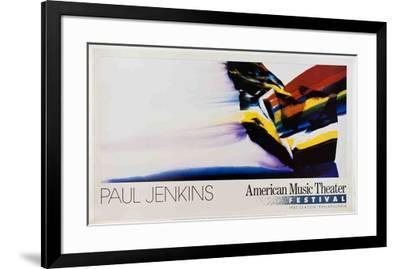 Phenomena Durango Wedge-Paul Jenkins-Framed Art Print