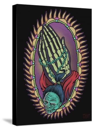 Praying for Evil-Allan Graves-Stretched Canvas Print