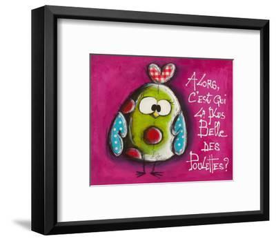 La plus belle ...-Carine Mougin-Framed Art Print