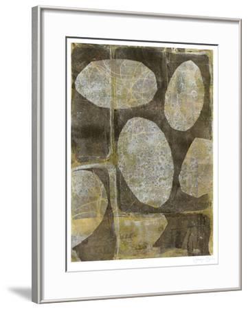 River Rock I-Jennifer Goldberger-Framed Limited Edition