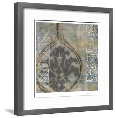 Floating Patterns I-Jennifer Goldberger-Framed Limited Edition
