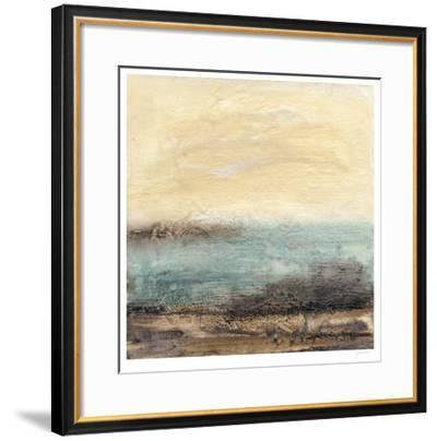 Turquoise Vista I-Ferdos Maleki-Framed Limited Edition
