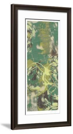 Entwined Emerald III-Jennifer Goldberger-Framed Limited Edition