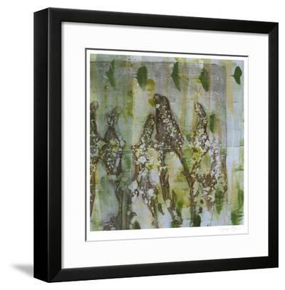Flower Field II-Jennifer Goldberger-Framed Limited Edition