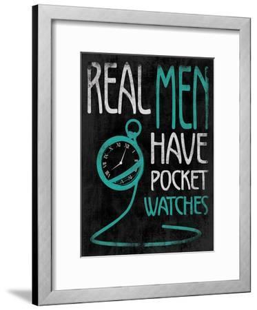 Real Men-Jace Grey-Framed Art Print
