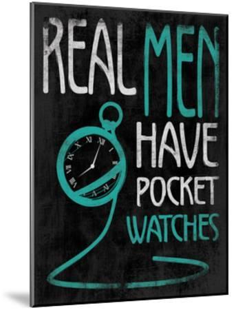 Real Men-Jace Grey-Mounted Art Print