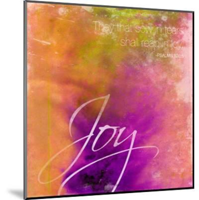 Joy-Jace Grey-Mounted Art Print