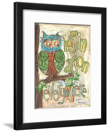 Imagination Everywhere-Erin Butson-Framed Art Print