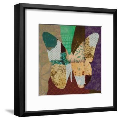 Rise Above Butterfly-Taylor Greene-Framed Art Print