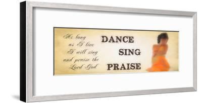 Praise-Taylor Greene-Framed Art Print