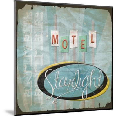 Motel-Jace Grey-Mounted Art Print