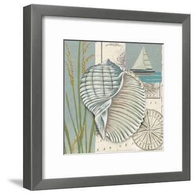 Seaside Shell I-Chariklia Zarris-Framed Art Print