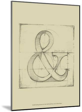 Drafting Symbols II-Ethan Harper-Mounted Art Print