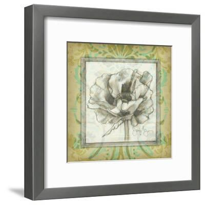 Victorian Poppy II-Jennifer Goldberger-Framed Art Print