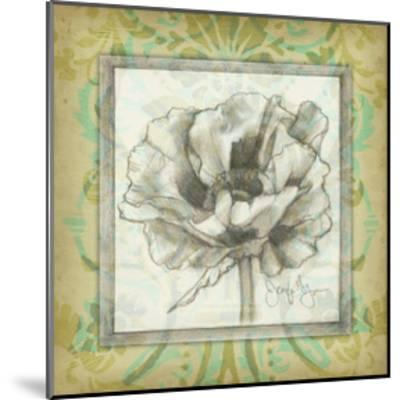 Victorian Poppy II-Jennifer Goldberger-Mounted Art Print