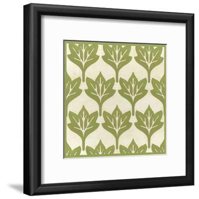 Cottage Leaves IV-Erica J^ Vess-Framed Art Print