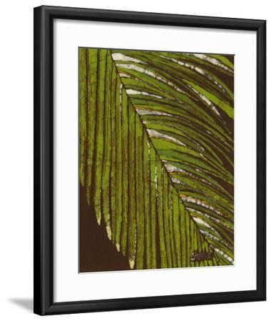 Batik Frond II-Andrea Davis-Framed Giclee Print