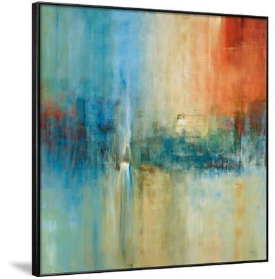 Blue Cascade-Simon Addyman-Framed Art Print