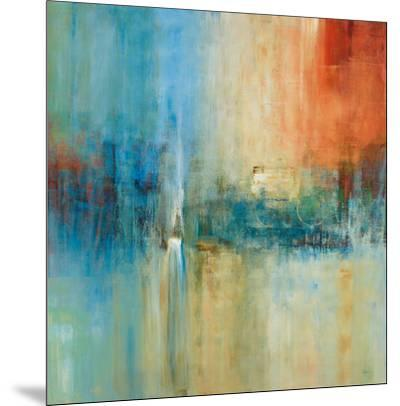 Blue Cascade-Simon Addyman-Mounted Art Print