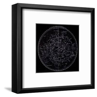 Visible Stars, French, 19th C.--Framed Art Print