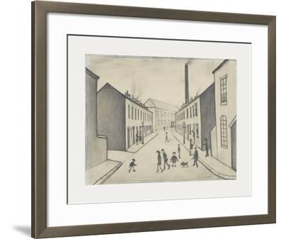 North James Henry Street, Salford, 1956-Laurence Stephen Lowry-Framed Premium Giclee Print