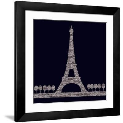 City Type II-Max Carter-Framed Art Print