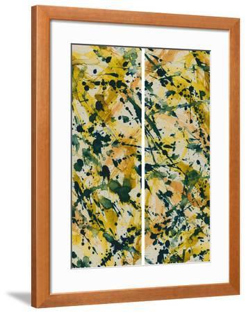 Chaos-Tanuki-Framed Art Print