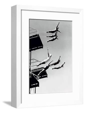 High Dive-The Chelsea Collection-Framed Art Print