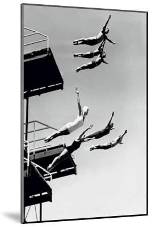 High Dive-The Chelsea Collection-Mounted Art Print