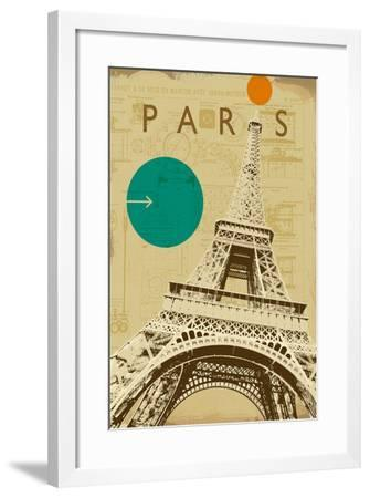 City Plans II-Ken Hurd-Framed Art Print