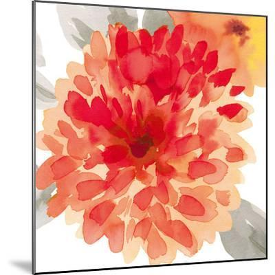 Peach Flower I-Sandra Jacobs-Mounted Art Print