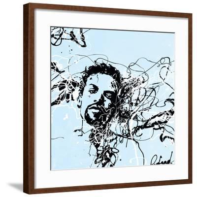 Star III-Oksana Leadbitter-Framed Art Print