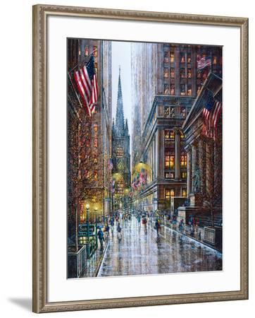 Wall Street-Guy Dessapt-Framed Art Print