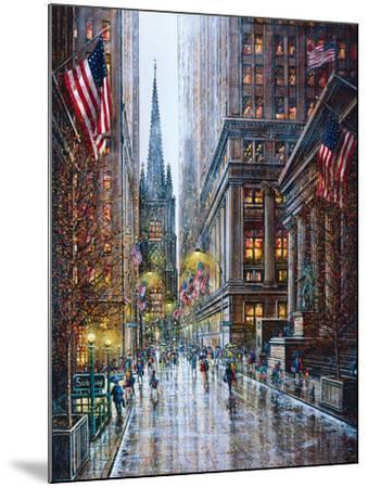 Wall Street-Guy Dessapt-Mounted Art Print