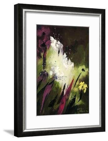 Flower Field 1-Nathalie Poulin-Framed Art Print