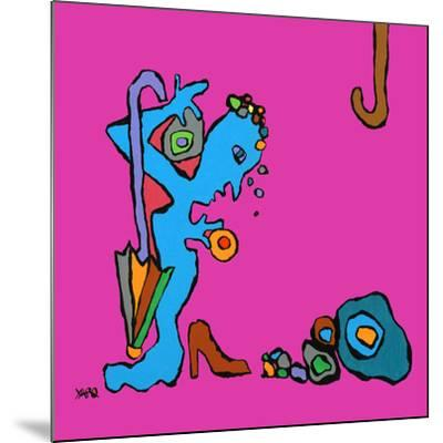 Mme a les Blues-Yaro-Mounted Art Print