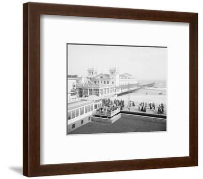 Steeplechase Pier, Atlantic City, NJ, c. 1905--Framed Giclee Print