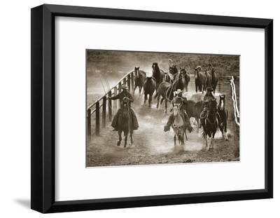 Livin' the Life-Barry Hart-Framed Giclee Print