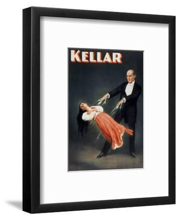 Kellar: Levitation--Framed Giclee Print