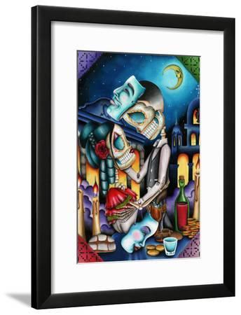 Masquerade-Dave Sanchez-Framed Art Print