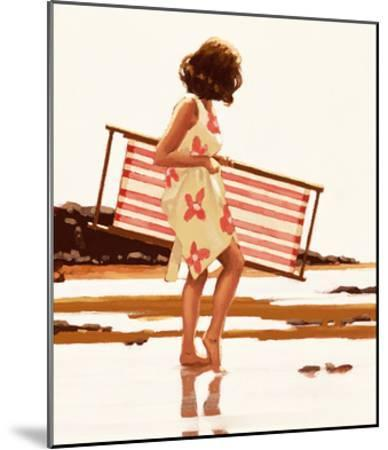 Sweet Bird of Youth (study)-Jack Vettriano-Mounted Art Print