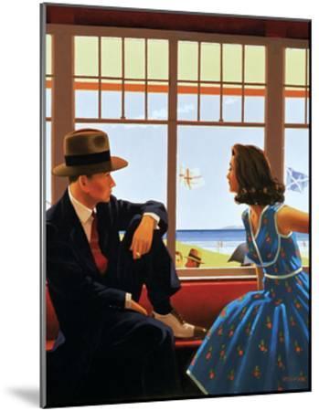 Edith and the Kingpin-Jack Vettriano-Mounted Art Print