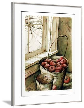 Pail of Apples-Nicholas Berger-Framed Limited Edition