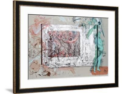 Television Baroque II-Rainer Gross-Framed Limited Edition